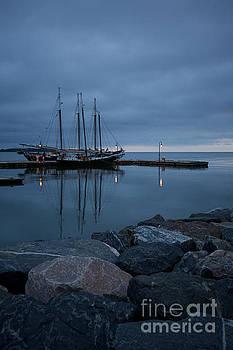 Morning at the Docks by Rachel Morrison