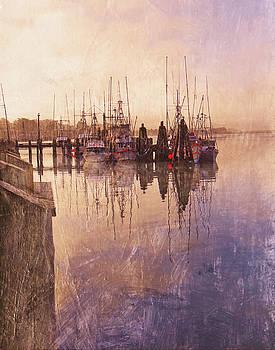 Morning Boats by Jeanne Gadol