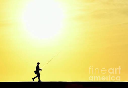 Morning Fishing by Diane LaPreta