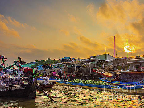 Asia Visions Photography - Morning Market in Can Tho