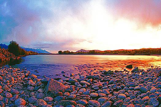 Susan Burger - Morning on the Snake River
