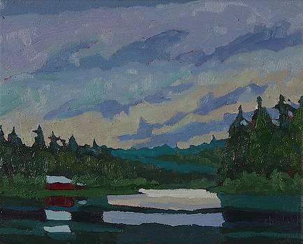 Phil Chadwick - Morning Stratocumulus on Robinson Lake