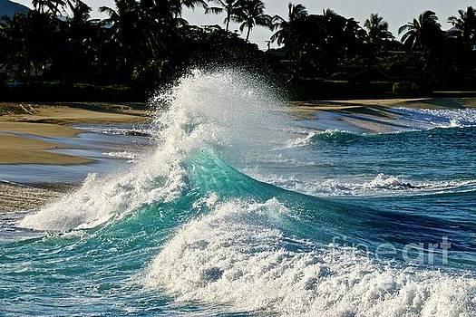 Morning Wave at Makaha one by Craig Wood