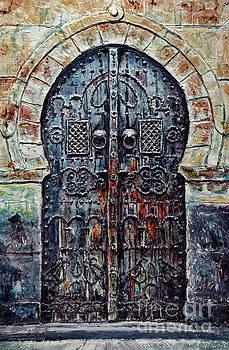 Moroccan Door by Joey Agbayani