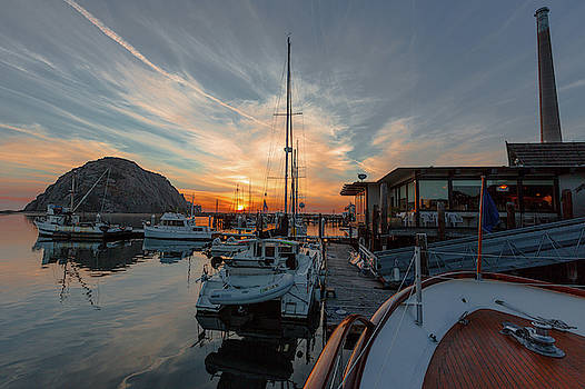 MIKE LONG - Morro Bay Sunset