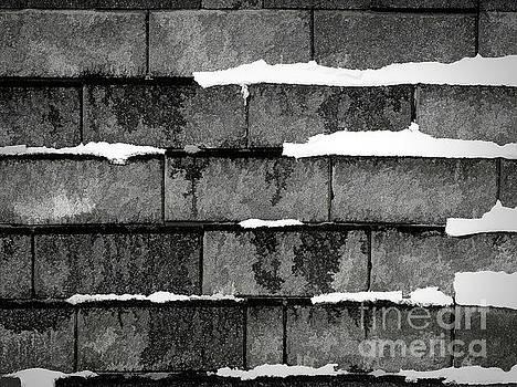 Mortar Joint Snow 2/2 by Bob Lentz