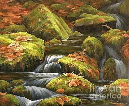 Moss Brook by Varvara Harmon