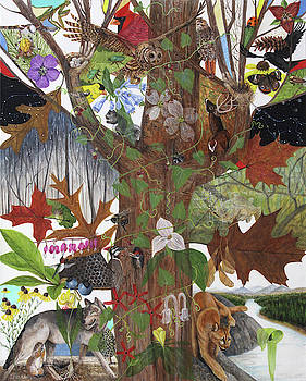 Mother Earth as a Tree by Trena McNabb