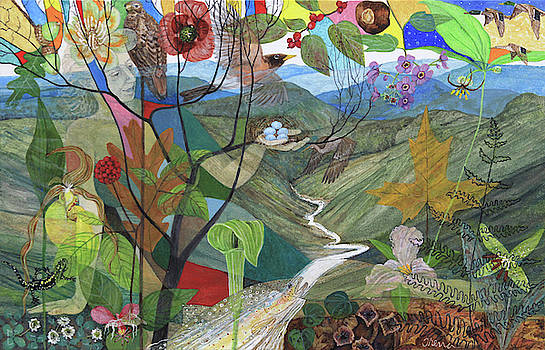 Mother Earth the River by Trena McNabb