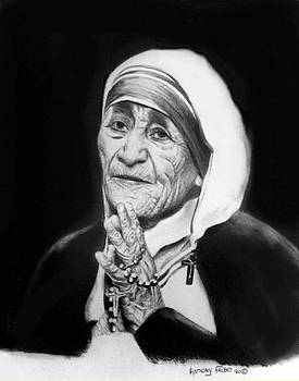 Mother Teresa by Anthony Falbo