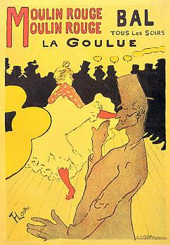 Moulin Rouge - 1891 - PC 1 by Henri de Toulouse-Lautrec