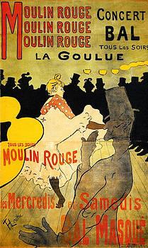 Moulin Rouge - 1891 - PC by Henri de Toulouse-Lautrec
