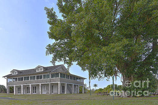 Mound House, Fort Myers Beach, Florida by Catherine Sherman