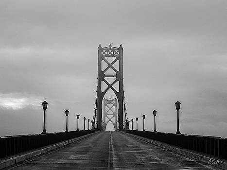 Mount Hope Bridge II BW by David Gordon