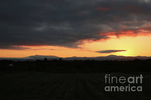 Felipe Adan Lerma - Mount Mansfield September Sunrise Five