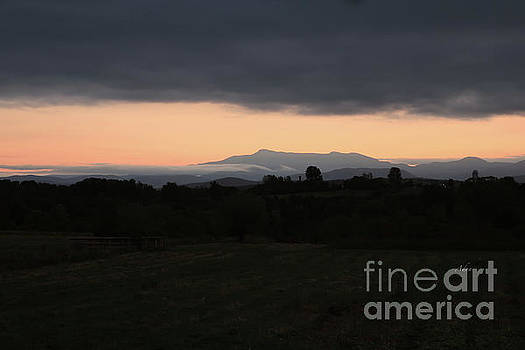Felipe Adan Lerma - Mount Mansfield September Sunrise Four