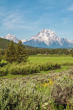 Brian Harig - Mount Moran View - Grand Teton National Park - Wyoming