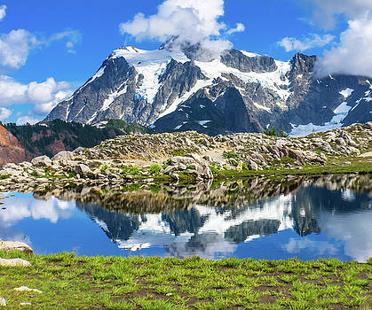 Mount Shuksan, Artist Point, Mount by William Perry