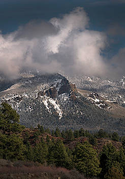 Mountain Dusting by Mark Langford