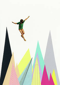 Mountain Jump by Cassia Beck