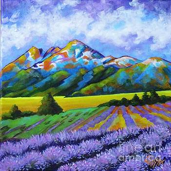 Mountain Meadows, Lavender Dreams by Elissa Anthony