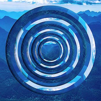 Pelo Blanco Photo - Mountain Range Circles