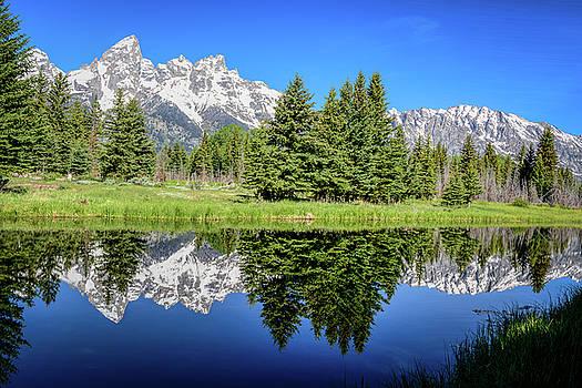 Mountain Reflection by John Wilkinson