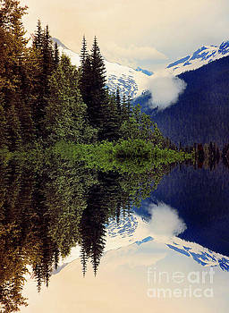 Mountain Reflections  by Elaine Manley