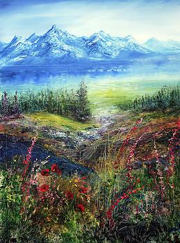 Mountain Stream by Ann Marie Bone