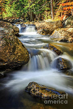 Mountain Stream Waterfall  by Edward Fielding