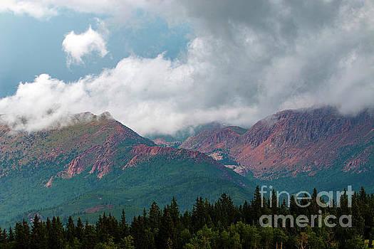 Steve Krull - Mountain Thunderstorm Clouds