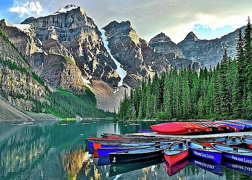 Frozen in Time Fine Art Photography - Mountain Tranquility