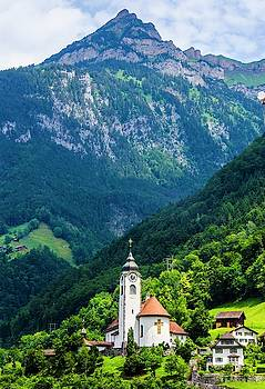 Mountainside Church by Paul Croll