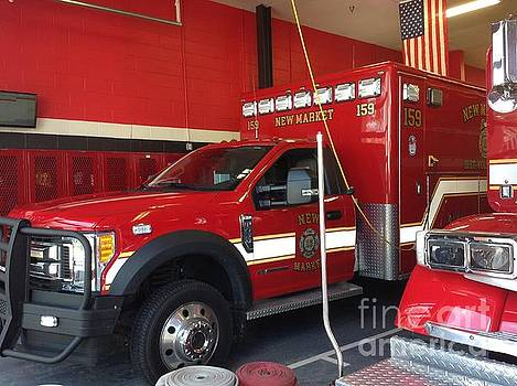 New Market Maryland Fire Station by Debra Lynch