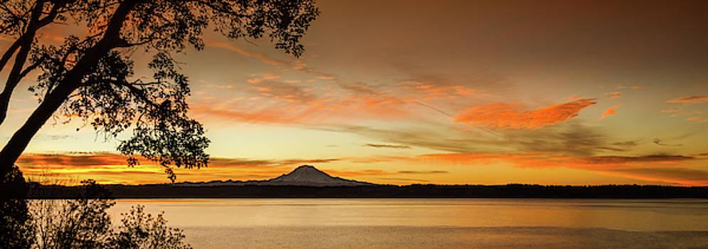 Mt. Rainier Sunrise by Don Schwartz