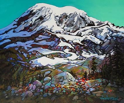Mt. Rainier, WA by Catherine Robertson