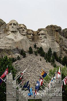 Mt. Rushmore by Carol Bilodeau