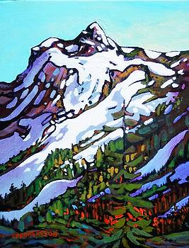 Mt. Shuksan, WA, different face by Catherine Robertson
