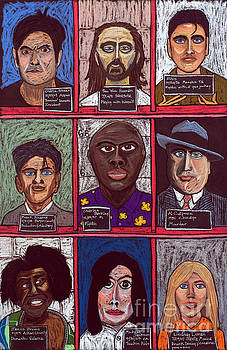 David Hinds - Infamous Mugshots Triptych - 2 of 3