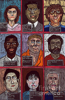 David Hinds - Infamous Mugshots Triptych - 3 of 3