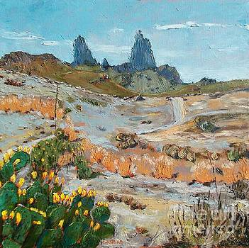 Lilibeth Andre - Mule Ears at Big Bend