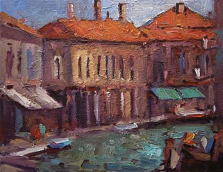Murano Italy  by R W Goetting