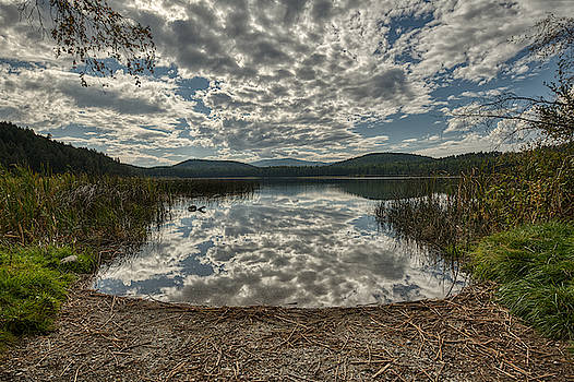 Murphy Lake in Autumn by Constance Puttkemery