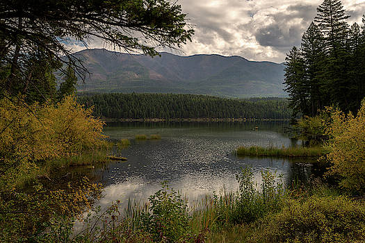 Murphy Lake in September by Constance Puttkemery