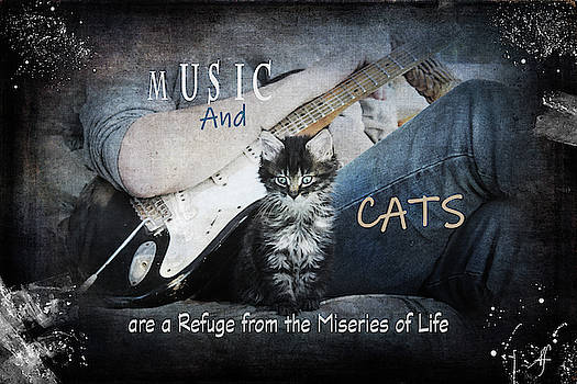 Music and Cats by Suzanne Fitzpatrick
