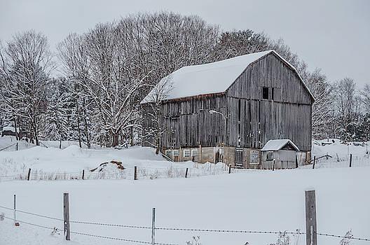 Andrew Wilson - Muskoka Barn In Winter
