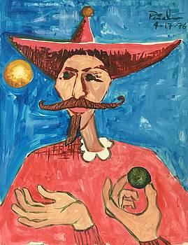 Mustachioed Juggler by Ricardo Penalver
