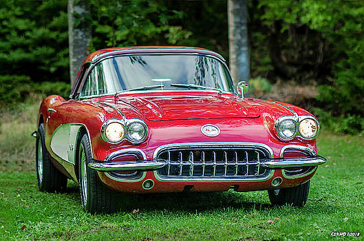 My 1960 Corvette #02 by Ken Morris