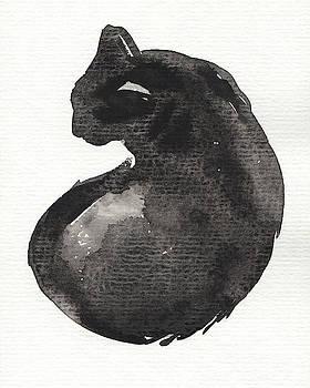 Judith Kunzle - My Black Cat