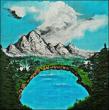 My Blue Heaven Number Five by Scott Haley